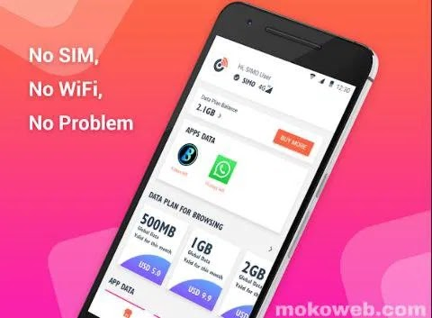 Unbelievable: Download SIMO App, Get Free 10GB Data on Android, No SIM