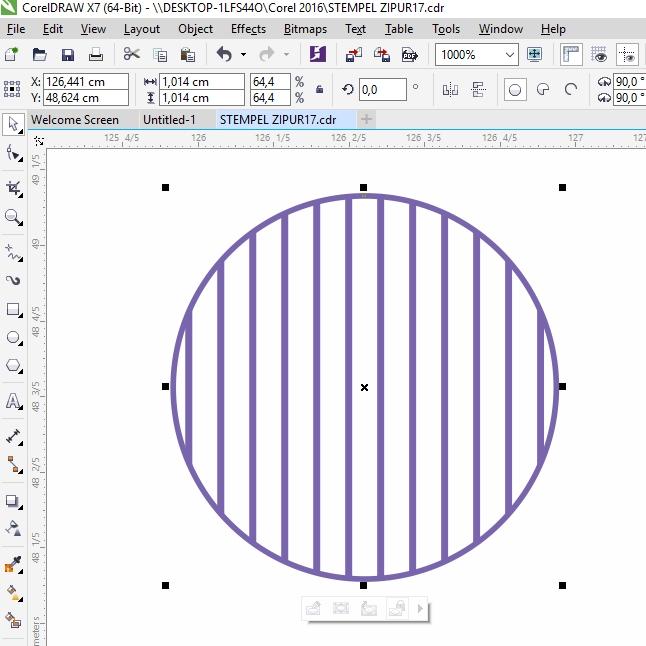 Cara membuat Desain STEMPEL dengan CorelDRAW | DODO GRAFIS