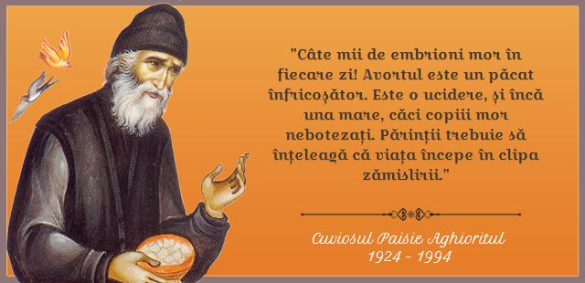 citate despre avort Viața începe în clipa zămislirii   Citate Ortodoxe   citate zilnice citate despre avort