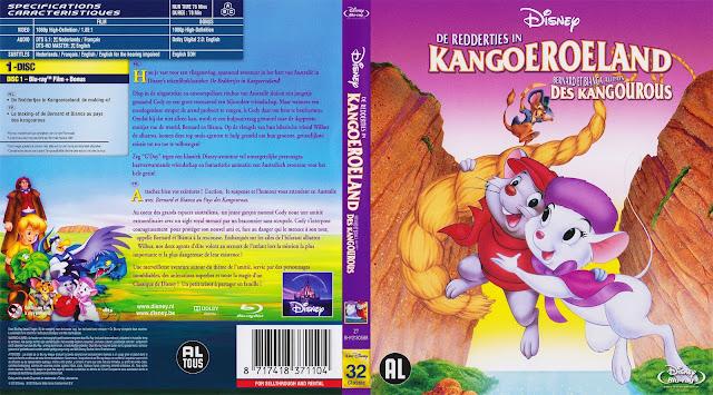 De Reddertjes In Kangoeroeland Bluray Cover