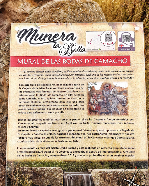Cartel informativo Bodas de Camacho
