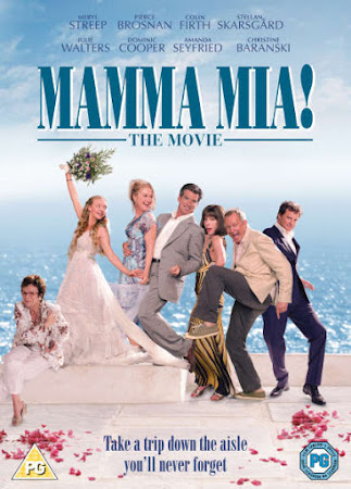 Poster Of Mamma Mia! 2008 In Hindi Bluray 720P Free Download
