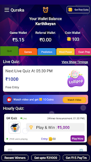 QUREKA TODAY QUIZ GAME ANSWERS abitbusiness.in