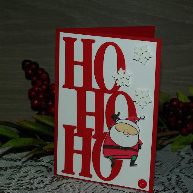 [DIY] Ho Ho Ho Grüße vom Weihnachtsmann