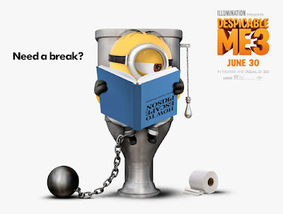 Despicable Me 3 Banner Poster 1