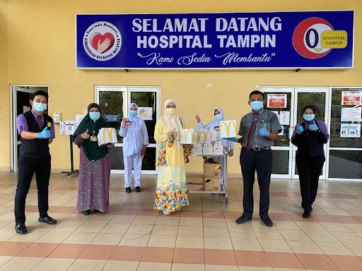 McDonald's Malaysia Taja Makanan Kepada Medical Frontliner
