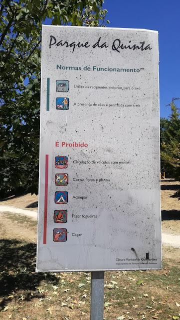 Placa Parque da Quinta