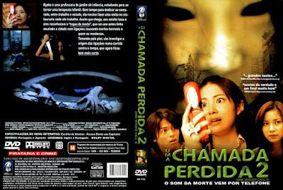 Filme Uma Chamada Perdida 2 (One Missed Call 2) 2005 DVD Capa