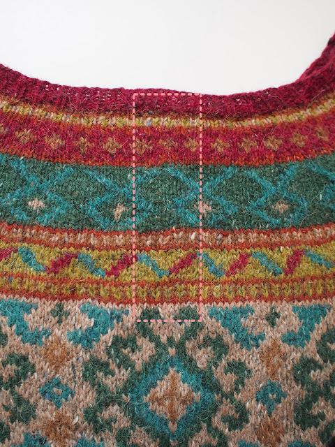 Anatolia by Marie Wallin from Rowan Magazine 54, knit by Dayana Knits
