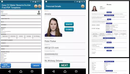 Aplikasi Membuat CV Lamaran Kerja Gratis Terbaik di Android-7