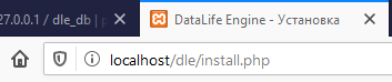tutorial cara install cms datalife engine di dalam xampp Enter