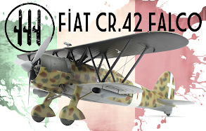 Build Review Pt.II: 1/32nd scale CR. 42CN WWII Italian Night Fighter From ICM Models