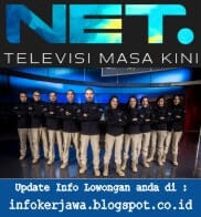 Lowongan Kerja NET. Media TV