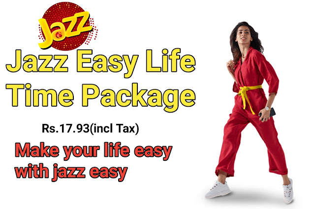 Jazz Easy Life Time Packages