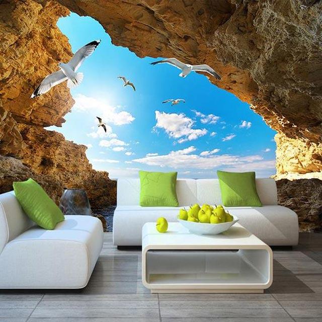 Wallpaper dinding tak sekedar mampu menghadirkan keindahan dinding di dalam rumah. Kehadiran wallpaper dinding bernuansa alam misalnya, konsep ini mampu membuat rumah kecil terasa lebih luas. Begini cara membuatnya.