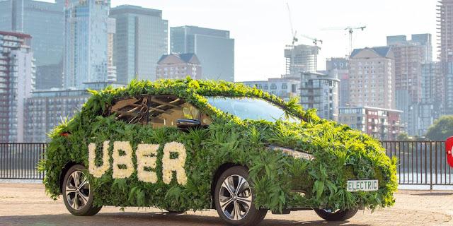 उबर कंपनी ने 2040 तक सभी देशो में इलेक्ट्रिक वाहनों का वादा किया