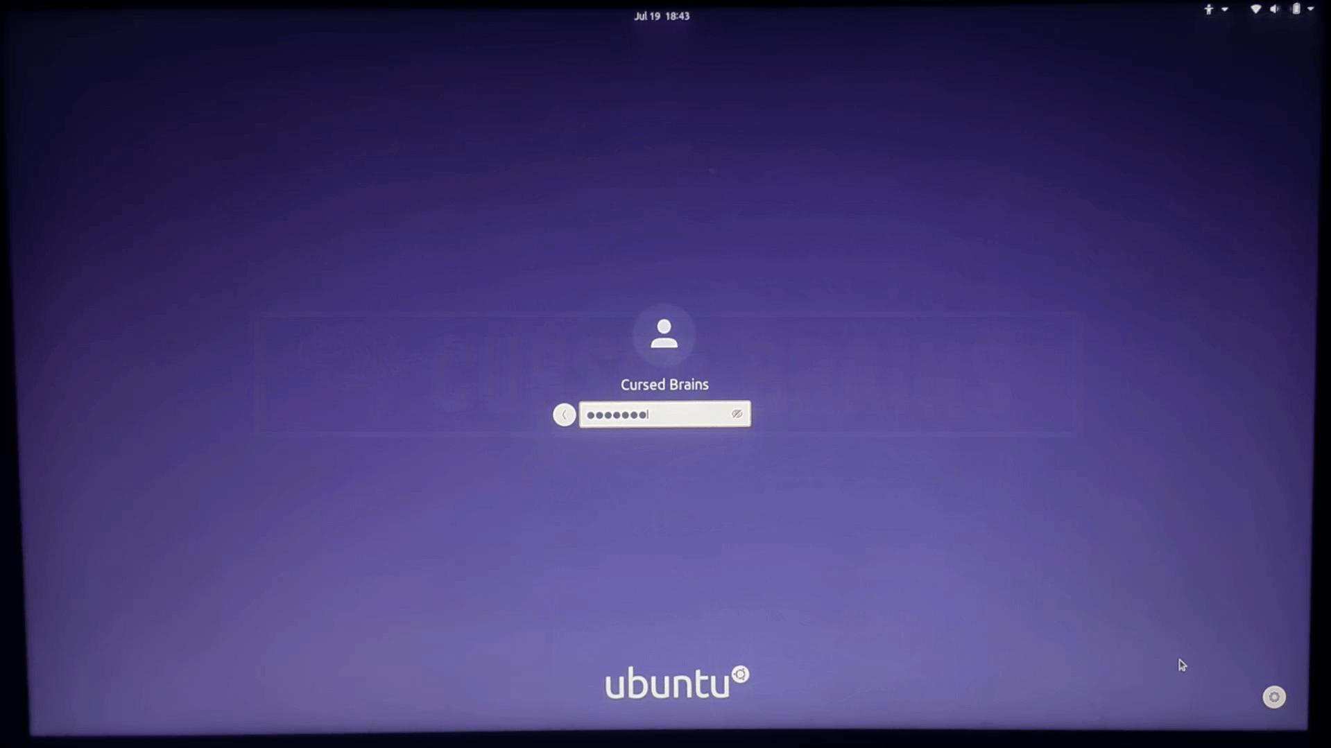User Login Password How to Dual Boot Ubuntu