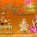 Deepawali Greetings (दीपावली ग्रिटिंग्स)  Laxmi Devi and Ganesh ji Arts No.05