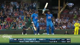 Manish Pandey 104* vs Australia Highlights