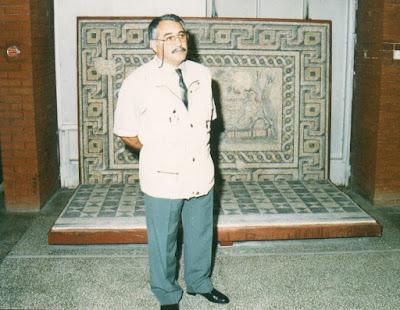 16. Müzede Akratos Mozaiği