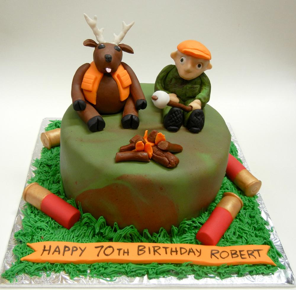 Ronnas Blog Deer Hunter Cake