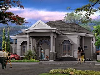 model rumah klasik 5