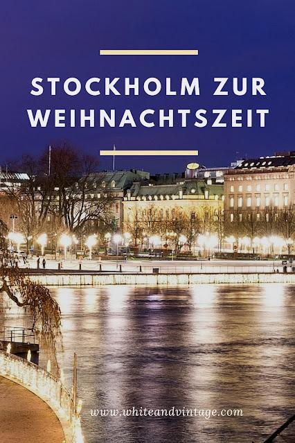 Stockholm über Weihnachten besuchen
