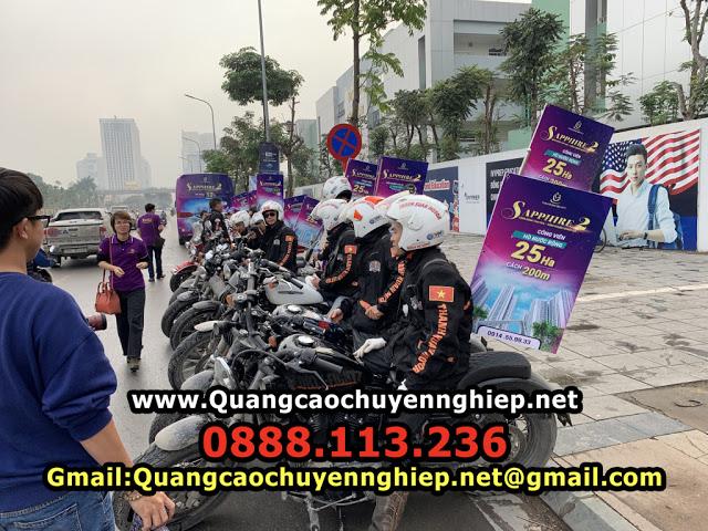 Tổ chức chạy Roadshow xe máy