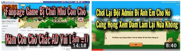 """Phongdz tv """"tổng sỉ vả"""" BQT game ngọc rồng online."""