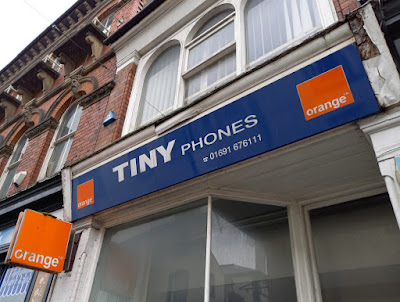 Tiny Phones Orange mobile shop in Oswestry