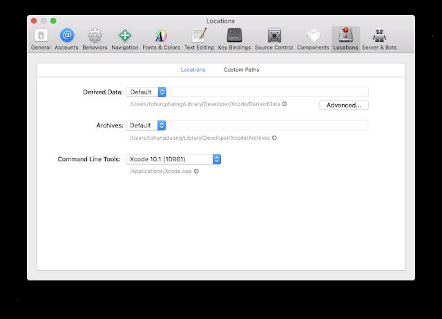 Thủ thuật 30s : Lấy lại dung lượng ổ cứng sau thời gian dài dùng Xcode.