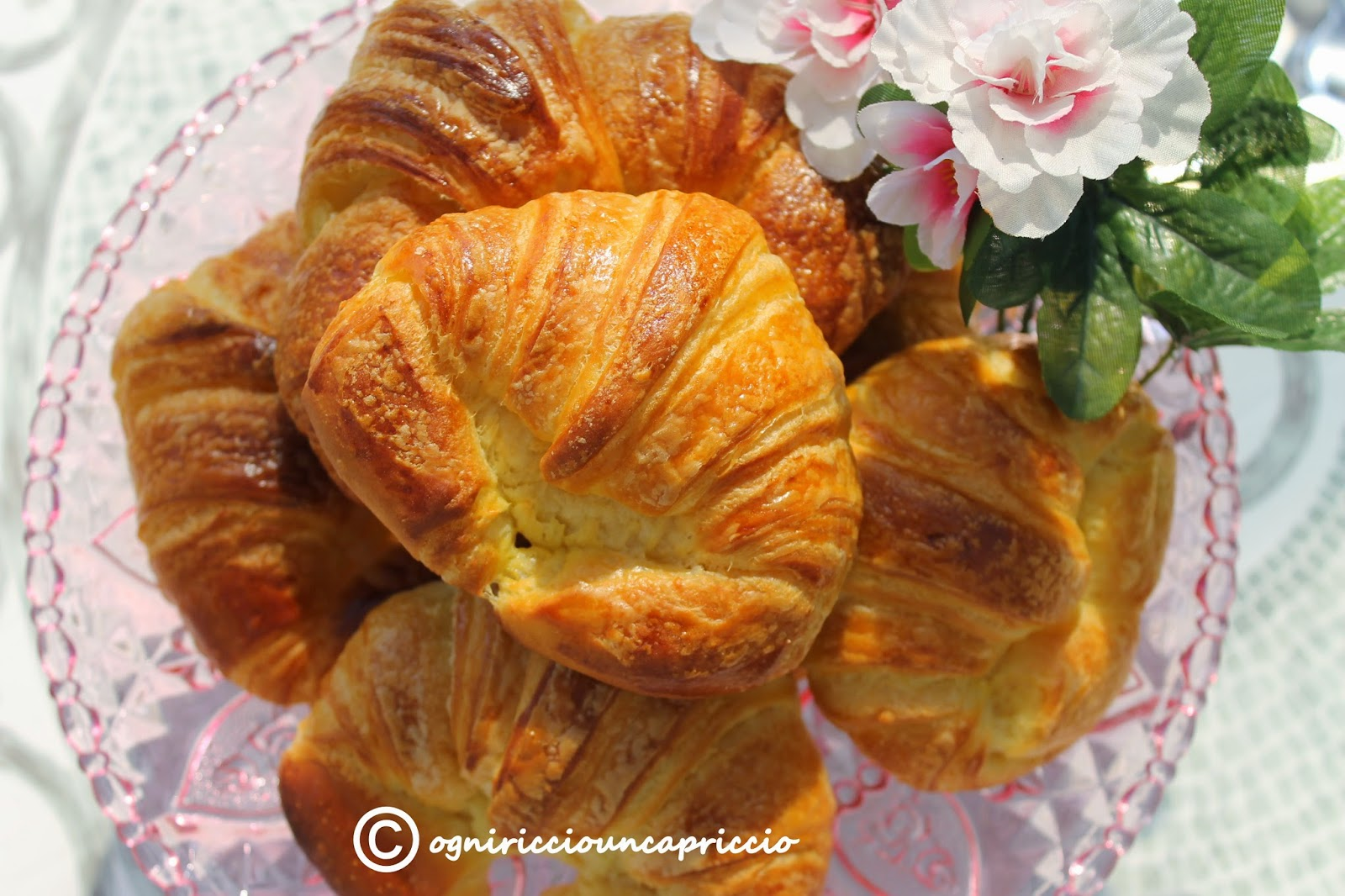 croissant come quelli del bar
