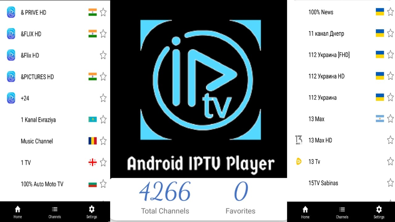 الالاف في انتظارك لمشاهدتها بشكل مجاني و قنوات الاقمار العالمية مجانا-android iptv player
