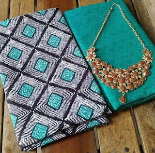 Kain Batik dan Embos 482 Hijau