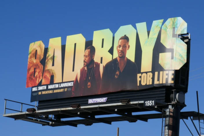 Bad Boys For Life cut-out billboard