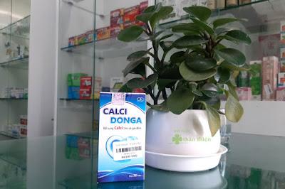 Calci DongA, bổ sung Canxi cho cả gia đình