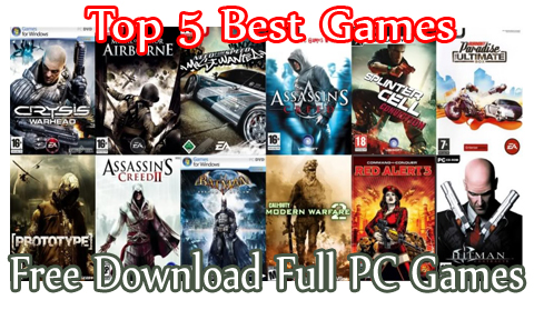 Top 5 Best Games Games Free Games Car Games Pc Games Any