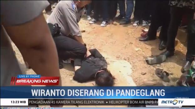 Pelaku Serang Wiranto Pakai Gunting Membabi Buta