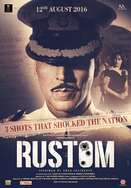 Rustom (2016) Poster | Akshay Kumar, Ileana D'Cruz, Esha Gupta