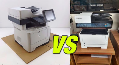 Perbandingan Kyocera m2040dn vs Printer Hp 500 m525