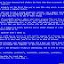 Blue Screen Pada Komputer ( Laptop & Desktop )