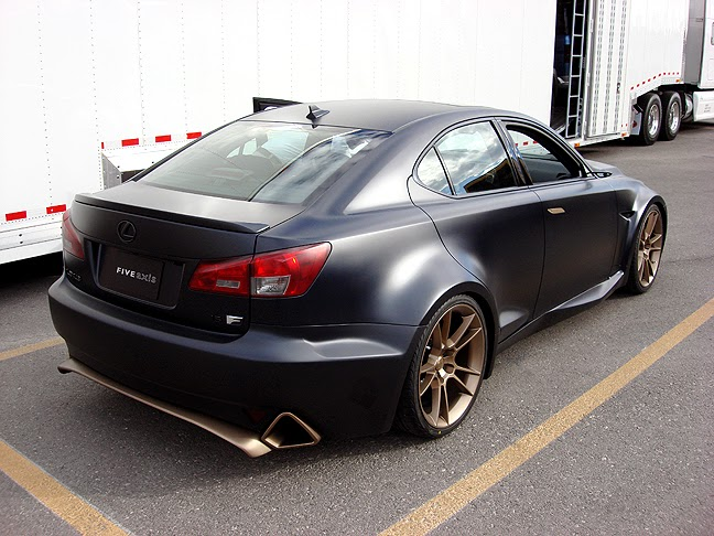 murdered out cars widebody lexus is f flat black. Black Bedroom Furniture Sets. Home Design Ideas
