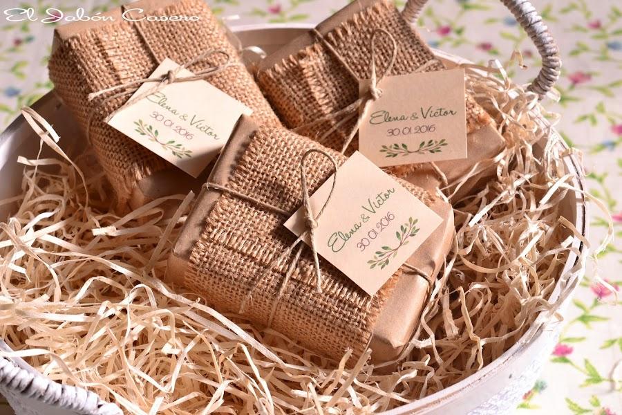 detalles de boda jabones rusticos