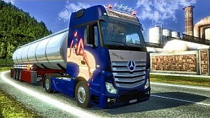 Mercedes Actros MP4 Mary Sue Edition