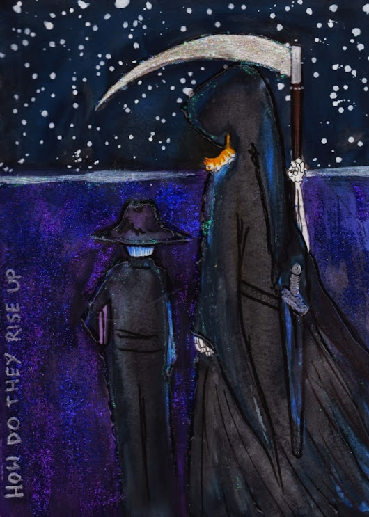 Art Journal Excerpt: Goodbye, Sir Pratchett