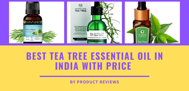 Best Tea tree essential oil price used for face, hair, skin, pimples, skin whitening, dark spots, acne - buy online on amazon