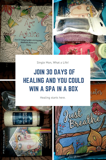 30 Days of Healing (Spa in a Box Giveaway)
