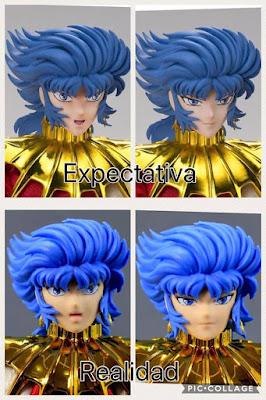 Comparativa de rostros de Abel Myth Cloth