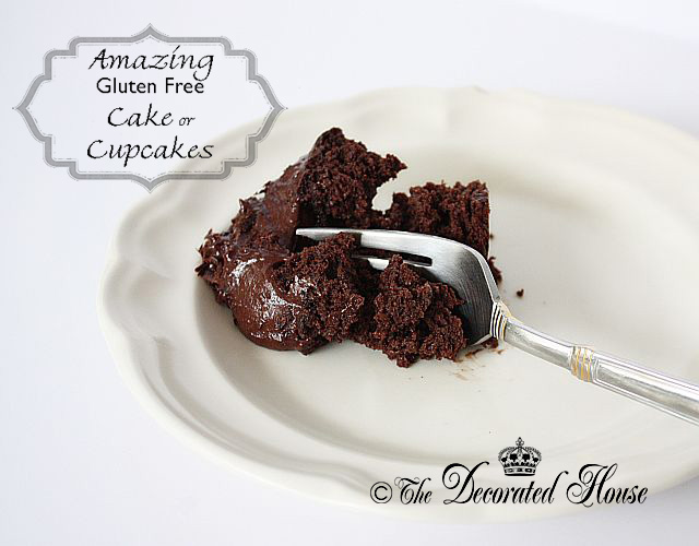 The Decorated House ~ Amazing Chocolate Gluten-Free Cake or Cupcakes with Cooked Quinoa