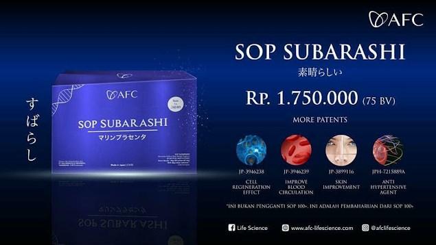 Jual AFC SOP Subarashi Review - Obat Tradisional Diabetes, Info di Sarmi. SOP Subarashi Untuk Diabetes.